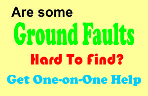 Get help finding ground faults