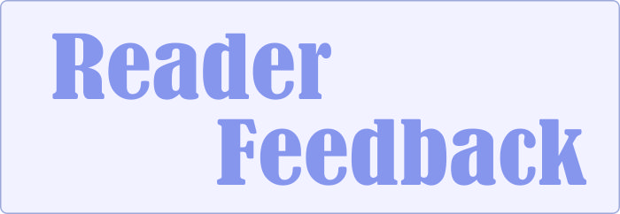 Go to Reader Feedback