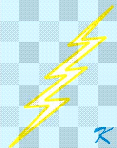 An Arc Flash is a short but full power lightning bolt.