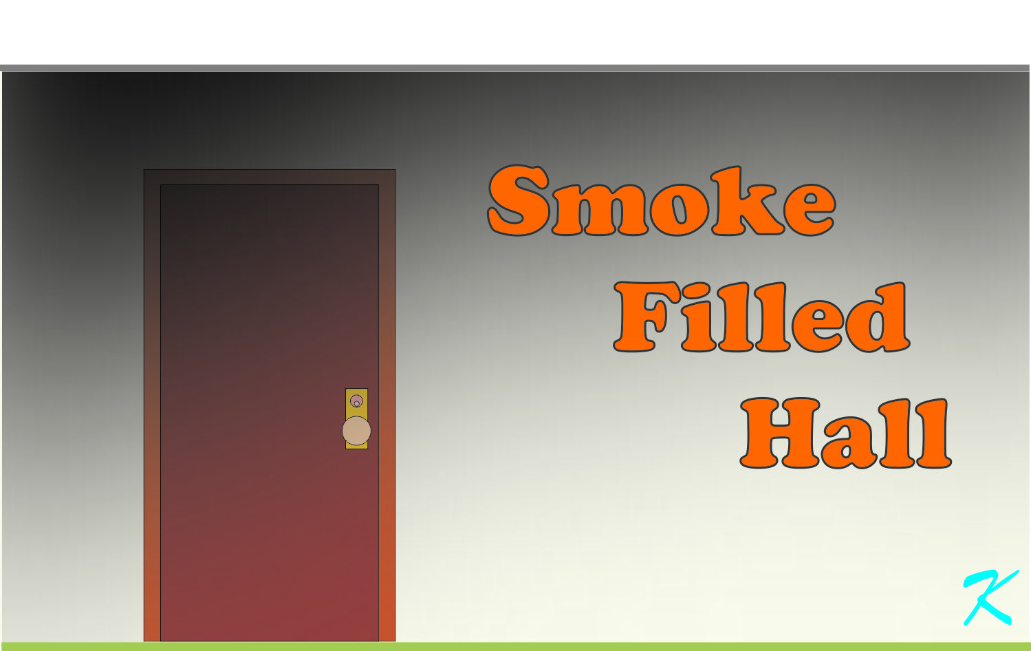 When the alarms are sounding, slowly check the hallways for smoke before using the hallways for escape