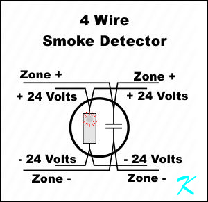 What Is A Four Wire Smoke Detector