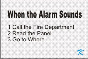 When the alarm sounds, don't silence, call the fire department, get out with everyone else